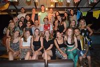 De groep waarmee we op Kertha verbleven