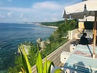 Het uitzicht van Cliffhouse Uluwatu