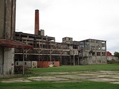 Voormalige vleesfabriek waar ooit Corned Beef werd uitgevonden