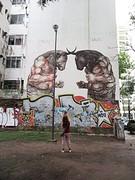Kunst om over na te denken: graffiti over geweld als onderdeel van cultuur