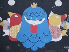 Graffitikunstenaars creëren hun eigen realiteit op de muren van Buenos Aires