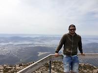 Mt. Wellington view!