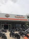 Voor pap ff naar de Harley..