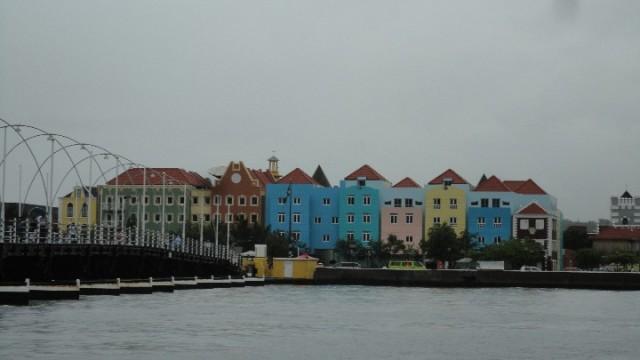Willemstad bij slechtweer