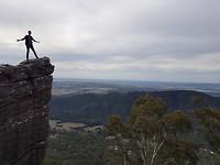 Ik op een rots 1