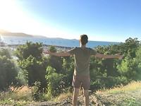 Airlie Beach - me + view