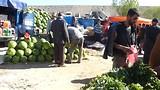 18 mei - een markt, onderweg van Ardabil naar Tabriz