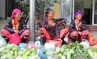 25 september - mooie dames van de Hmong