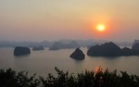 7 oktober - zonsondergang