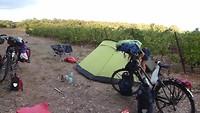 24-9, onze (wild) kampeerplek in de buurt van Brignac