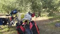 20-10, kamperen tussen de olijfbomen
