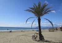 5-11, het strand bij Elviria