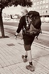 In de straten van Burgos