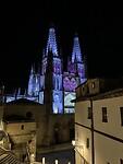 Santa Maria Cathedral (Burgos)  by night