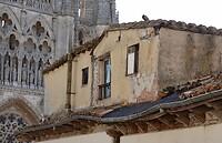 Prachtig contrast tussen deze zolderverdieping en de Kathedraal