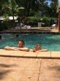 Lekker zwemmen in Forster