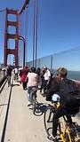 Fietsen op de Golden Gate Bridge