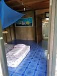 Onze slaapkamer in het hutje