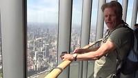 Uitzicht 2e hoogste gebouw ter wereld, 632 m