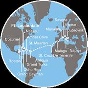 Kaart Cruise
