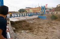 Overstromingen in Huanchaco