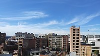 Uitzicht vanaf patio hotel