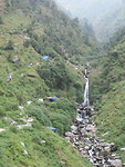 Waterval in Macleod Ganj