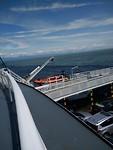 Veerboot uitzicht
