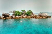 Practige eilandjes