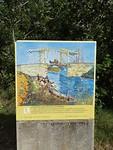 Het schilderij van de Pont Langlois
