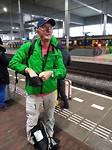 Trein naar Brussel