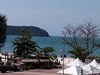 Uitzicht hotel Paretto