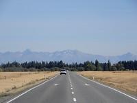 Op weg naar Lake Tekapo