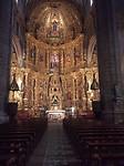 Hoofdretabel in de kerk La Asunciõn in Navarrete