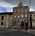 Ons logeeradres Siervas de Maria een oud hospital.