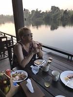 Dag 9: Ontbijt bij de river Kwai