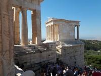 Oude tempel van Athena