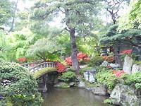 deel van de keizerlijke tuinen