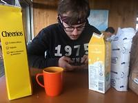 Dag 22 - Laatste ontbijtje op de camping