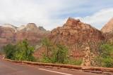Het mooie uitzicht langs de weg