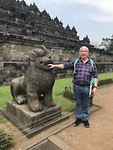 Borobudur. Joop heeft lef 🤗