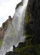 The Budara waterfall