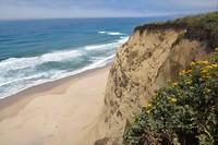 Kust langs San Francisco en Monterey