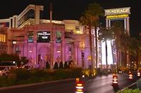De strip in Las Vegas
