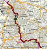 Route Hilversum - Maarn