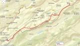 Routekaart Sur La Roche - Les Allies
