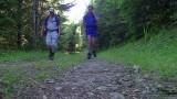 Onderweg naar Chapelle des Bois