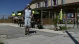 Terrasje pakken in Chaux-Neuve