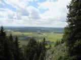 Uitzicht op Chapelle-des-Bois
