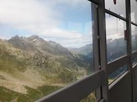 Uitzicht vanuit kabelbaan